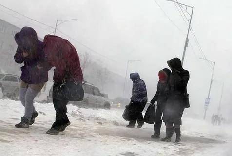 К берегам Камчатки приближается тихоокеанский циклон